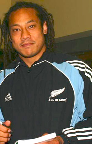 Tana Umaga All Blacks
